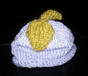 Baby's Grape Hat side view