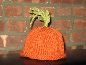 Baby Carrot Hat