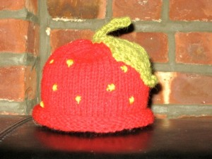 Little Strawberry Hat